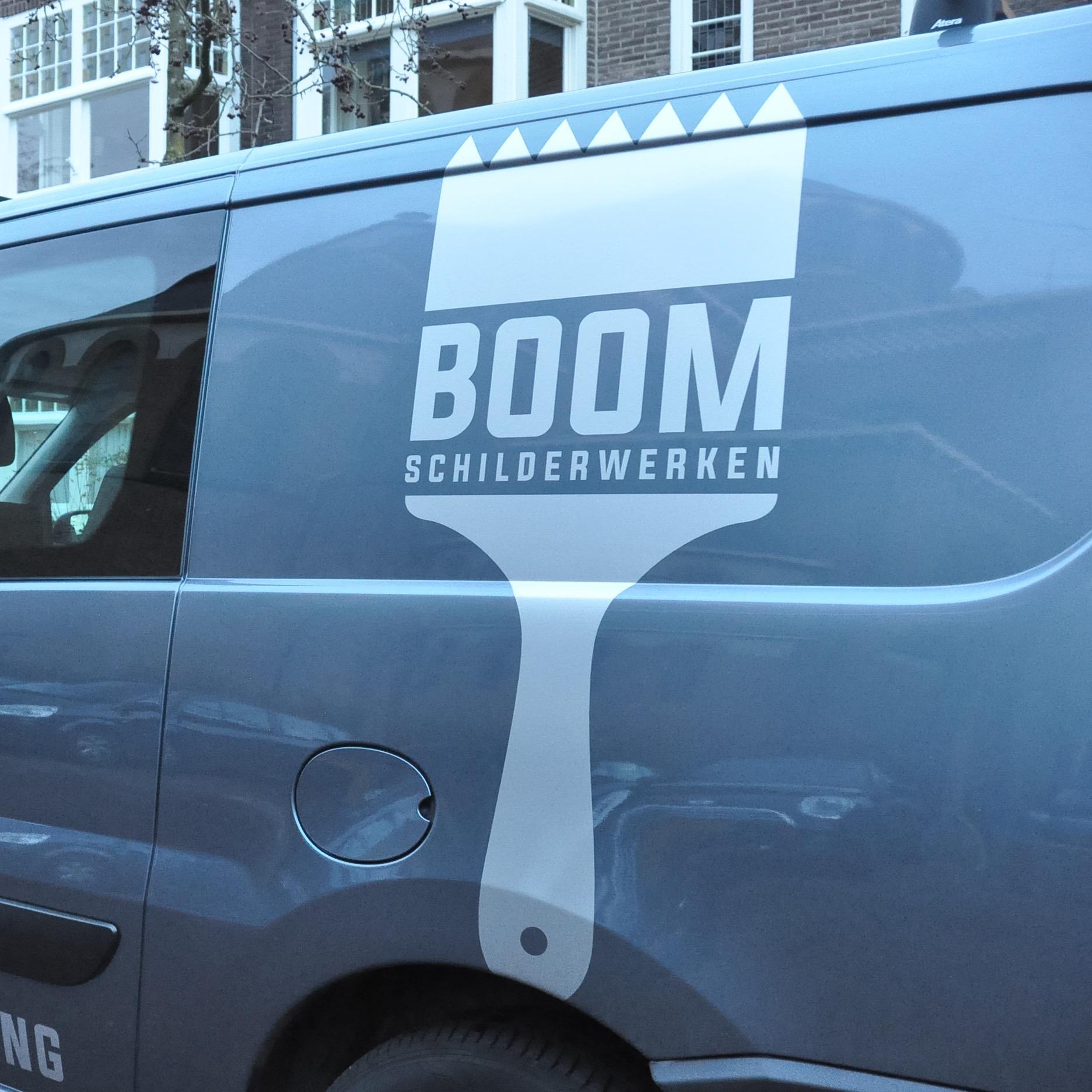 BOOM rijdende reclame