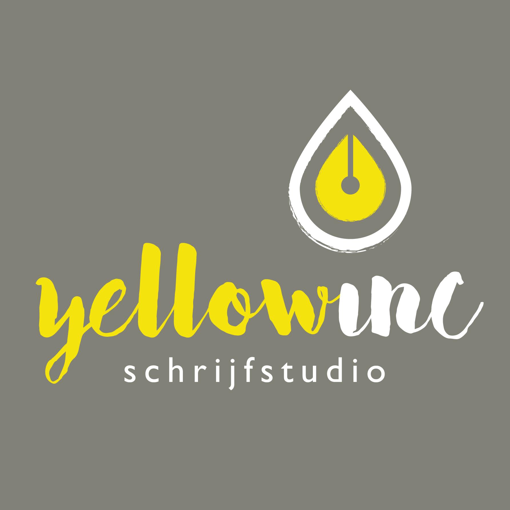 YELLOWINC Schrijfstudio logo huisstijl
