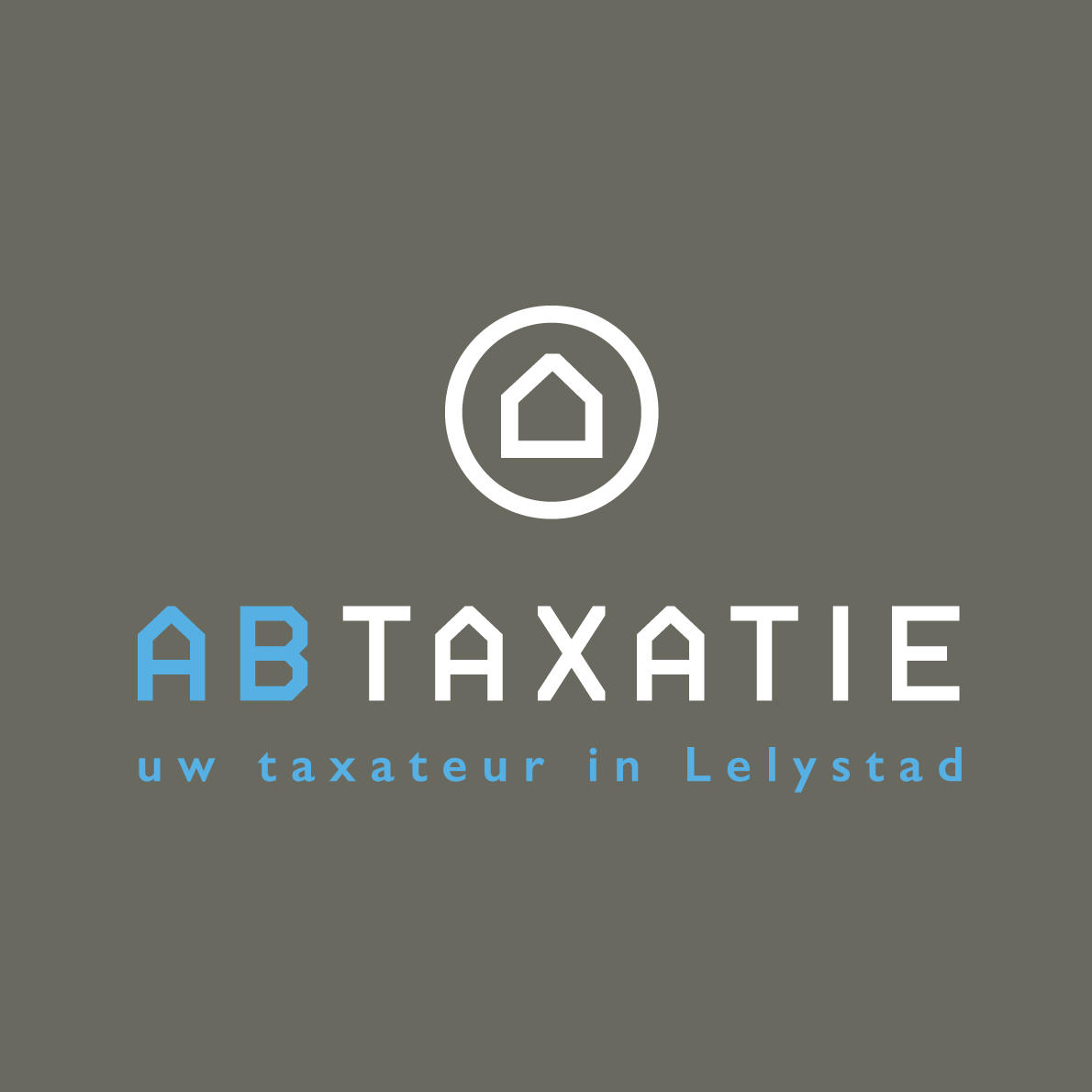 ABTAXATIE Lelystad logo huisstijl visitekaartje visuele identiteit