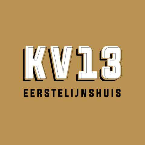 KV13 eerstelijnshuis logo vierkant