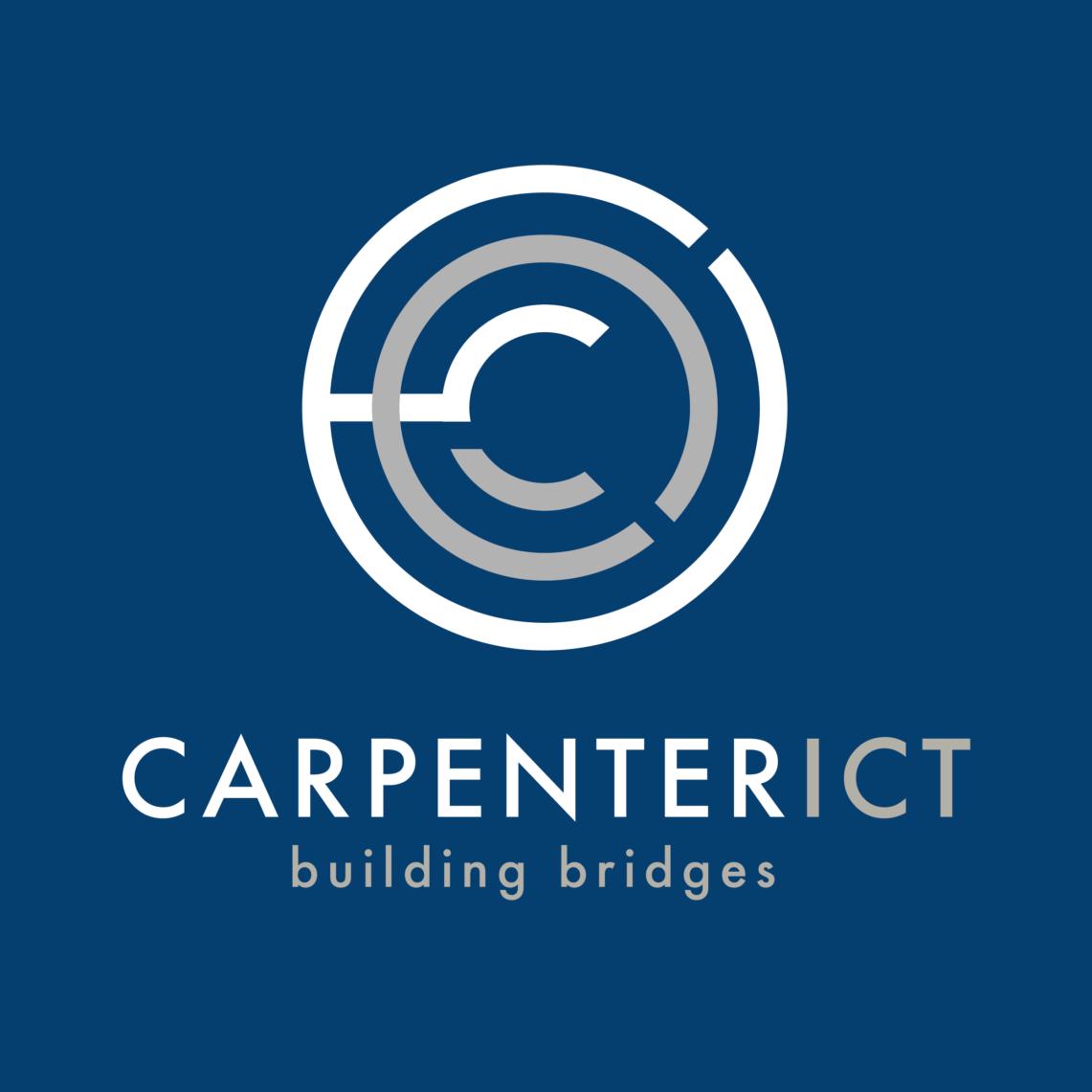 CARPENTER ICT logo visuele identiteit huisstijl webdesign