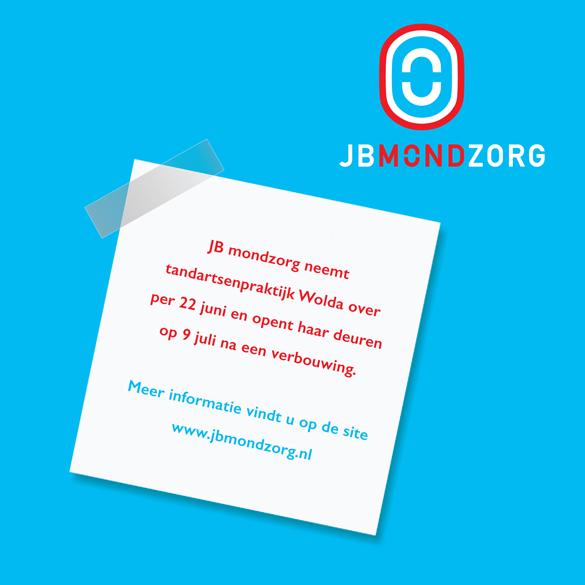 JB Mondzorg advertentie