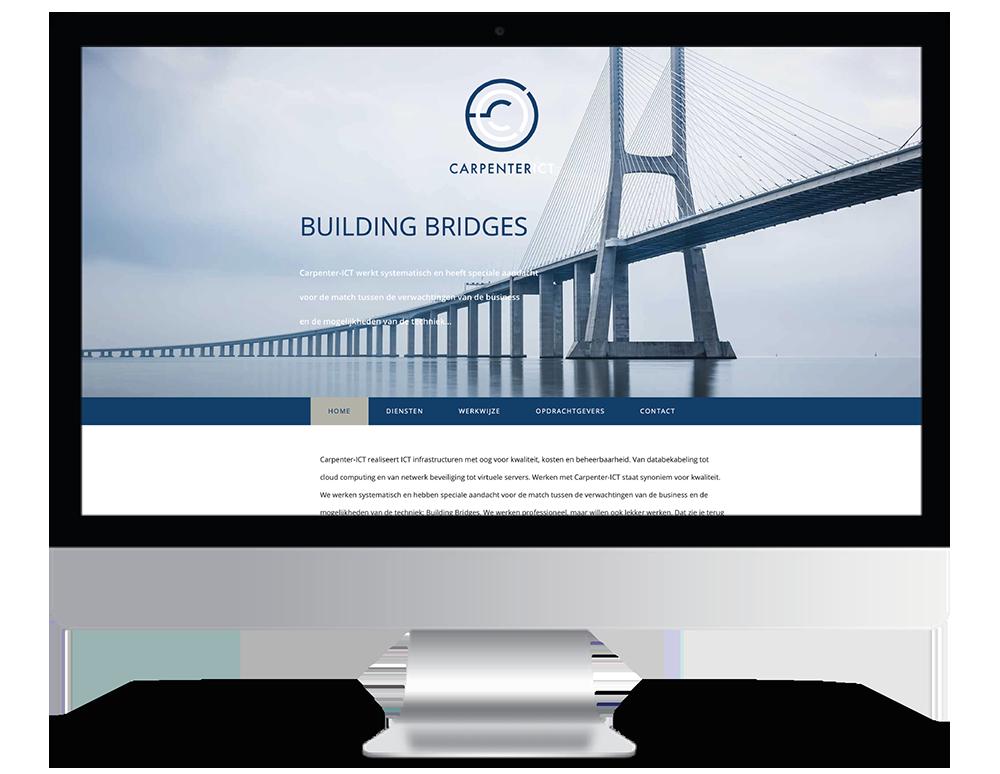 Carpenter ICT Webdesign
