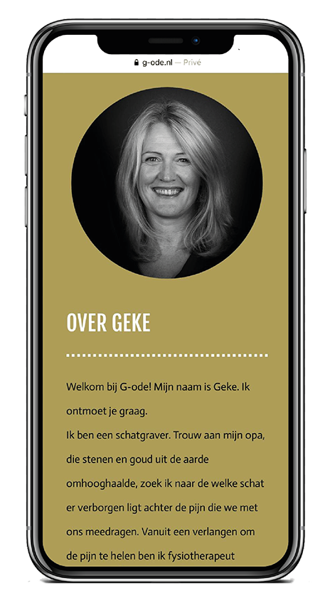 G-ODE iPhone Over Geke