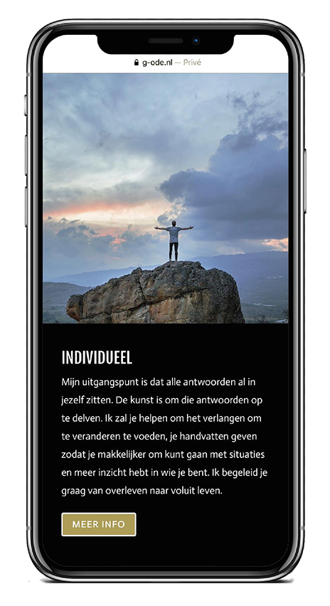 G-ODE iPhone Individueel