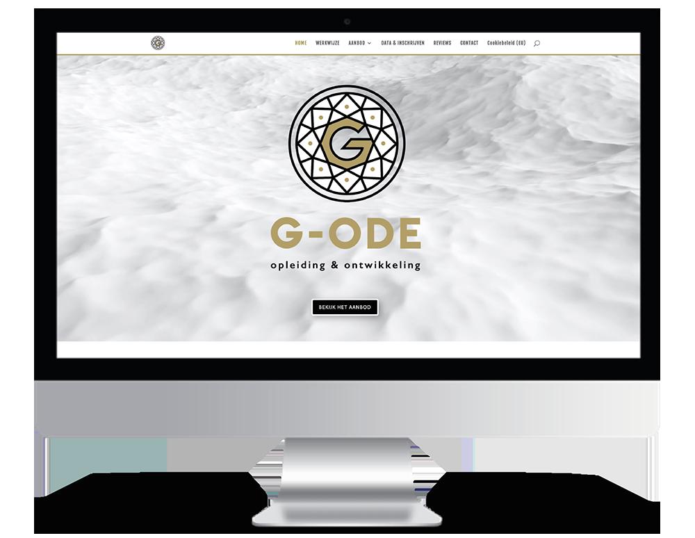 G-ODE opleiding & ontwikkeling site webdesign
