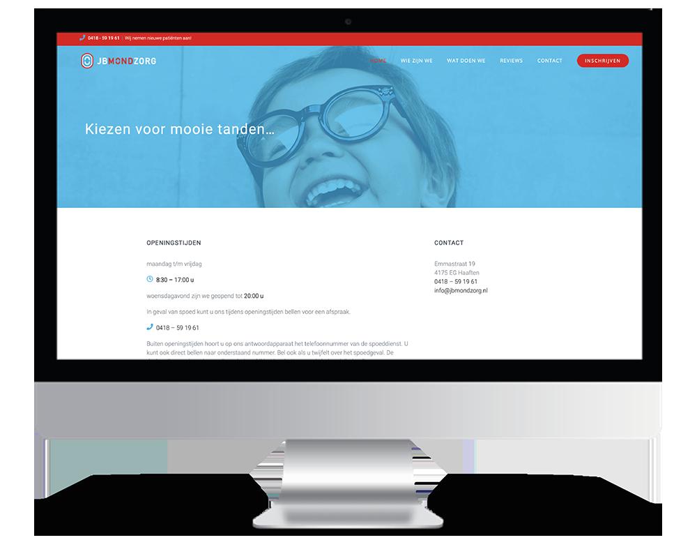 JBMondzorg Webdesign