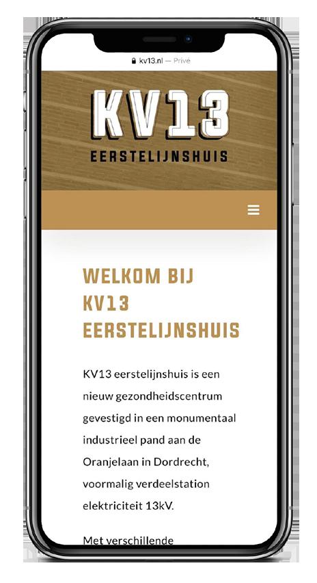 KV13 responsive design home