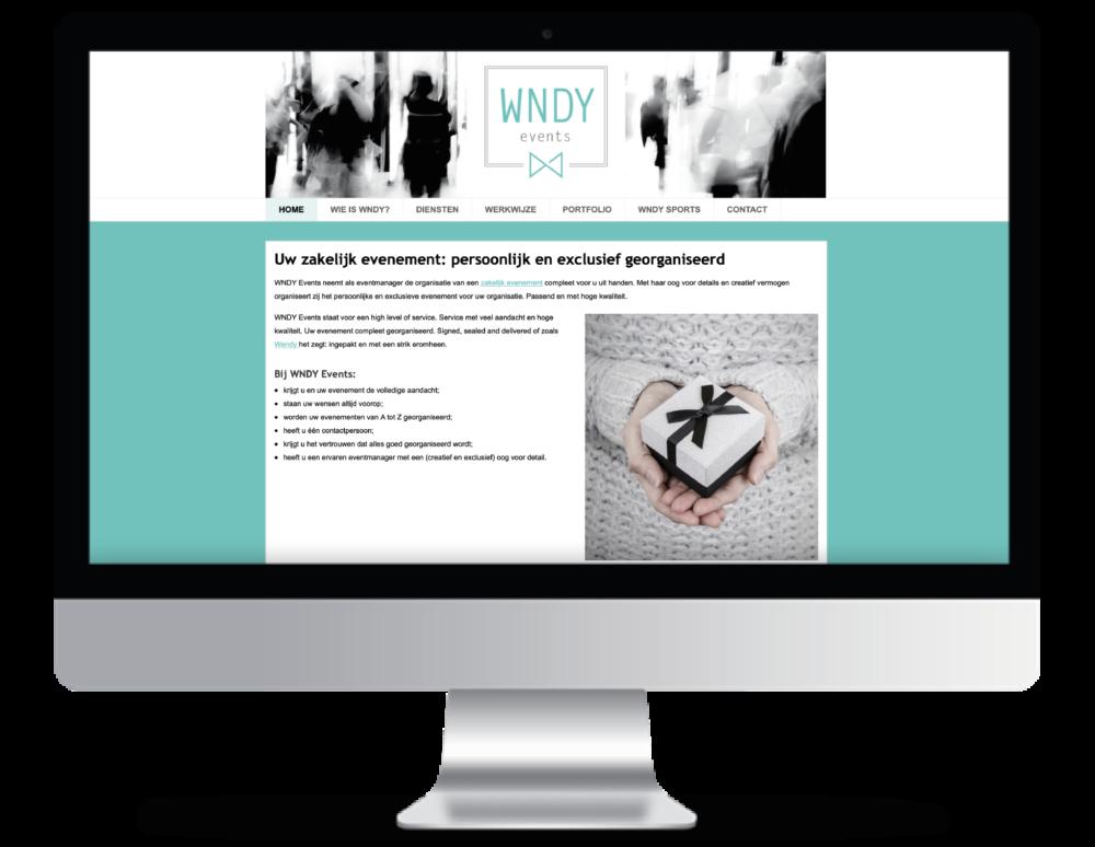 WNDY Events Webdesign