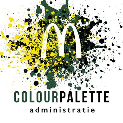 ColourPalette Administratie Logo