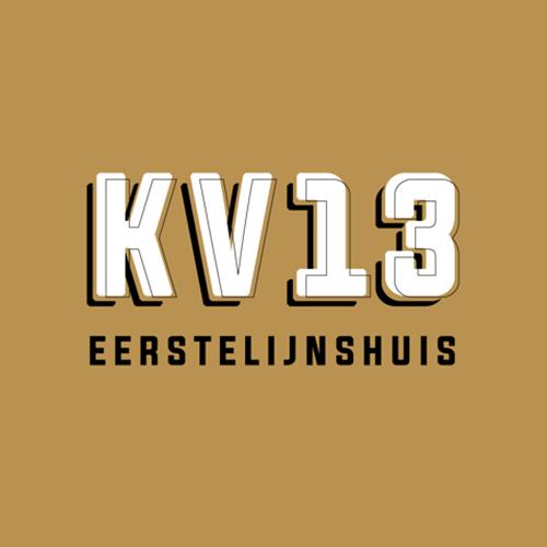 KV13 eerstelijnshuis | logo
