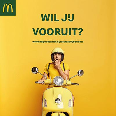 McDonald's social media ontwerp werving personeel