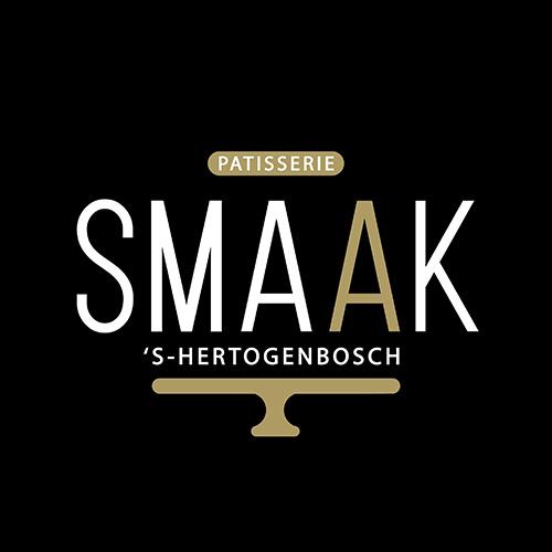SMAAK patisserie logo ontwerp